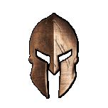 """Spartan Helmet"". Solomon Islands 10$ 2021. 99,9% silver coin with antique bronze finish, 300 g."