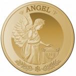 50£ 2021.v.  99,99% kultaraha, 1 unssi
