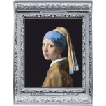 Masterpieces of the Museum - Johannes Vermeer. France 250 € 99,9% silver coin, 1/2 kg.