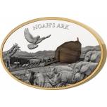 Noah´s Ark Solomon Islands 10$ 2021. 3 oz silver coin