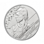 Musiikkilegenda David Bowie.  Iso-Britannia 5 GBP 2020 kupari-nikkeli raha