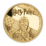 Harry Potter - Samoa 50 $ 2021. v. 99,9 % kultaraha. 0,5 gr.