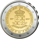 Belgia 2017.a. 2€ juubelimünt: Liège'i Ülikooli 200. aastapäev