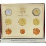 Годовой набор Евро монет Ватикан 2017 года