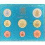 Годовой набор Евро монет Ватикан 2019 года  - комплект