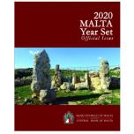 Malta virallinen vuosisarja 2020. (5,88 €) Skorba  Temples
