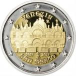 Italia 2€ erikoisraha 2017 - 400 vuotta venetsialaisen Pyhän Markuksen tuomiokirkon valmistumisesta