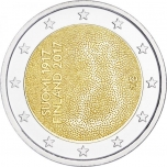 Finland 2€ commemorative coin 2017 - Independent Finland 100 years