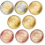 Eesti käibemündid kilepakendis