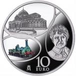 "Europa « Век Железа и Стекла»"" - Испания 10€ 2017.г 92,5% серебряная монета, 27 г"