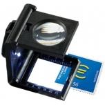 Kokoontaitettava Luuppi 5x Led-valo