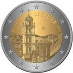 2 € юбилейная монета 2017 г. Литва Вильнюс