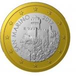 San Marino 1€ 2019.a.