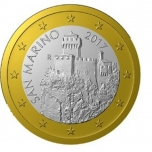 Сан - Марино 1 €  2018. года