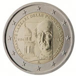 San Marino 2€ commemorative coin 2014 -500th anniversary of the death of Bramante Lazzari delle Penne di San Marino