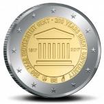 Belgia 2€ erikoisraha 2017 - Gentin yliopisto 200 vuotta