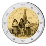 Vatikaanivaltio 2€ erikoisraha 2017 - 100 vuotta Fátiman ilmestyksestä