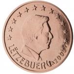 Luksemburgi 1 ja 5 sendine  2017.a. kilepakendis