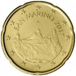 San  Marino 20 senti  2018.a.