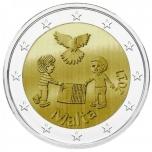 2 € юбилейная монета Мальта   2017 г. -Мир