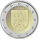 Latvia 2€ erikoisraha 2017 -  Latgale