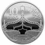 "Europa « Век Железа и Стекла»"" Ирландия 10€ 2017.г. 92,5% серебряная монета, 28,28.г"