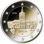 """Saksamaa 2018.a. 2€ juubelimünt """"Berliini Charlottenburgi loss"""""""