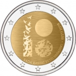Eesti 2018 a 2€ juubelimünt  -Eesti Vabariigi 100. sünnipäev
