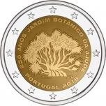 Portugali  2018 a 2€ juubelimünt Ajuda botaanikaaia (Jardim Botânico da Ajuda) 250. aastapäev