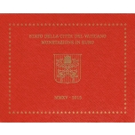 Vatikani euromündikomplekt 2015.a.