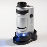 Zoom Microscope with LED, 20x-40x magnification