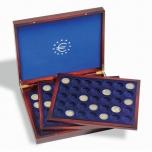 Кассета VOLTERRA TRIO de LUXE   для 2€ монет  - 105 монет в капсуле 26 mm