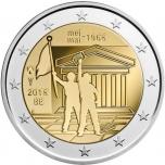 Belgia 2018.a. 2€ juubelimünT - mais 1968 Belgias toimunud sündmuste 50. aastapäev