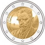 2 € юбилейная монета  2018 г. Греция  -5 лет со дня смерти Костиса Паламаса