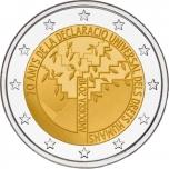 Andorra 2 Eur 2018  juubelimünt – 70 aastat inimõiguste ülddeklaratsiooni