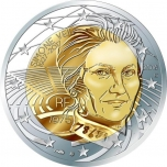 2 € юбилейная монета 2018  г.Франция - Симона Вейл