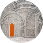 Тиффани - Ориентализм - 99,9% серебряная монета с антик обработкой 2018 г. Палау  20 $ 2--унций