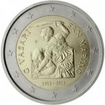 San Marino 2011 2 eur juubelimünt -  Giorgio Vasari 500. sünniaastapäev