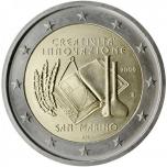 San Marino 2009 2 eur juubelimünt - Euroopa loovuse ja uuenduste aasta