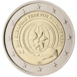 Belgium 2€ commemorative coin 2015 - European Year for Development