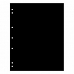 NUMIS лист, чёрный