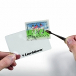 """Credit Card"" magnifier VISIT with 3x magnification"