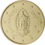 Сан - Марино 50 цент  2018. года