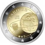 2 € юбилейная монета 2018 г.Бельгия  - 50-летие запуска первого европейского спутника ESRO 2B