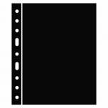 Plastic sheets OPTIMA, interleave, black
