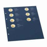 """Комплект OPTIMA листов для 2€ юбилейных монет 2018 года -  """"100 лет независимости Балтииских стран"""""""