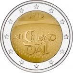 2 € юбилейная монета 2019  г. Ирландия - 100-летие со дня первого заседания Дойл Эрен