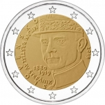 2 € юбилейная монета Словакия 2019 г. - 100 лет со дня смерти Милана Ростислава Штефаника