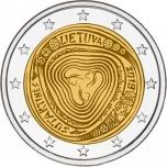 2 € юбилейная монета 2019 г. Литва -Сутартинес - Литовские народные песни Литовские народные песни