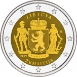Lithuania 2€ commemorative coin 2019 - Samogitia